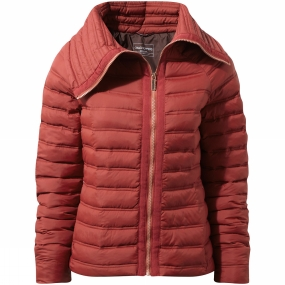 Craghoppers Craghoppers Womens Moina Jacket Redwood