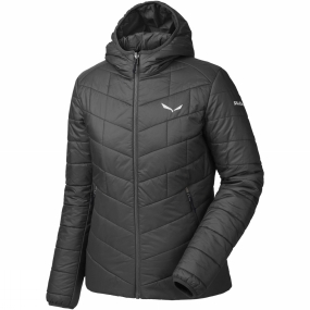 Salewa Salewa Womens Fanes Tirol Wool Hooded Jacket Black Out