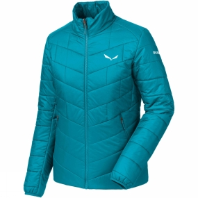 Salewa Salewa Womens Fanes Tirol Wool Jacket Caneel Bay