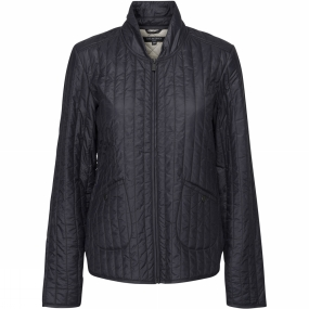 Ilse Jacobsen Ilse Jacobsen Womens Quilt03 Light Quilt Jacket Dark Indigo