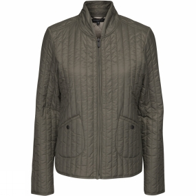 Ilse Jacobsen Ilse Jacobsen Womens Quilt03 Light Quilt Jacket Army