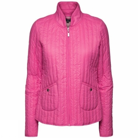 Ilse Jacobsen Ilse Jacobsen Womens Quilt03 Light Quilt Jacket Warm Pink