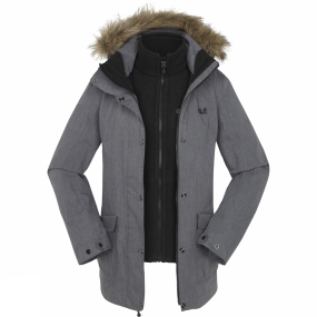 Jack Wolfskin Womens Rose Hill Parka Grey Heather