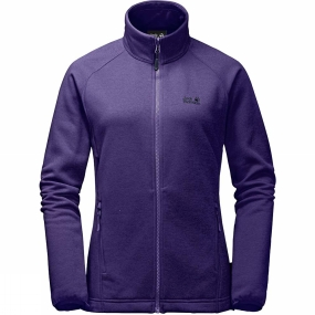 Jack Wolfskin Jack Wolfskin Womens Cascade Pass 3in1 Jacket Midnight Blue