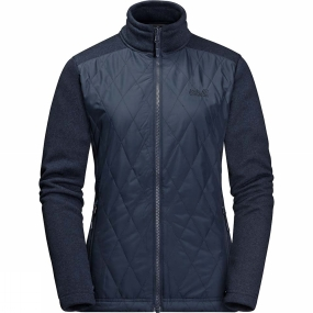 Jack Wolfskin Jack Wolfskin Womens Echo Pass 3in1 Jacket Midnight Blue