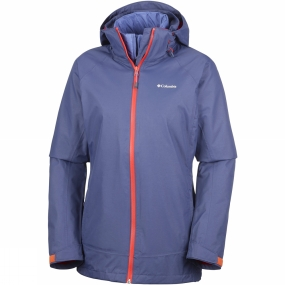 Columbia Columbia Womens On The Trail Interchange Jacket Nocturnal