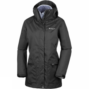 Columbia Columbia Womens Out In The Cold Interchange Jacket Black