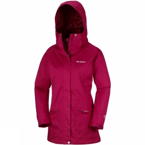 Columbia Womens Out In The Cold Interchange Jacket
