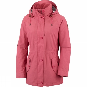 Columbia Columbia Womens Lookout Butte Jacket Sunset Red