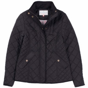 Brakeburn Brakeburn Womens Classic Quilted Jacket Black