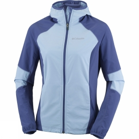 Columbia Columbia Womens Sweet As Softshell Hoodie Oxygen / Bluebell