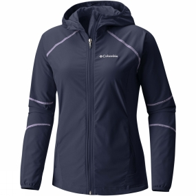 Columbia Columbia Womens Sweet As Softshell Hoodie Nocturnal