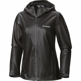 Columbia Columbia Womens OutDry Ex Stretch Hooded Shell Jacket Black