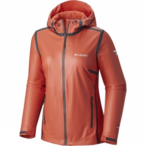 Columbia Columbia Womens OutDry Ex Stretch Hooded Shell Jacket Zing