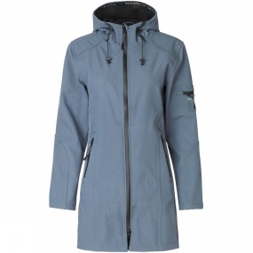 Ilse Jacobsen Womens Rain07 3/4 Rain Coat