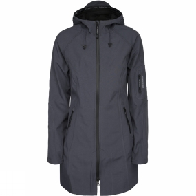 Ilse Jacobsen Ilse Jacobsen Womens Rain37 3/4 Rain Coat India Ink