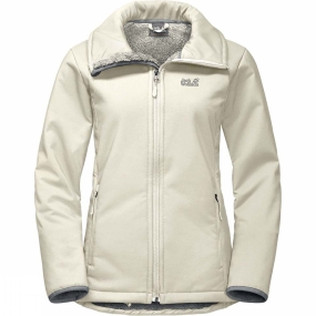 Jack Wolfskin Jack Wolfskin Womens Rock Valley Jacket White Sand