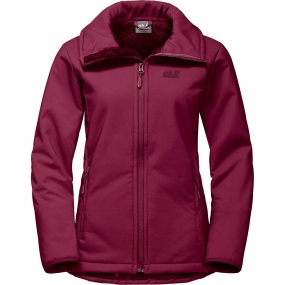 Jack Wolfskin Jack Wolfskin Womens Rock Valley Jacket Dark Ruby
