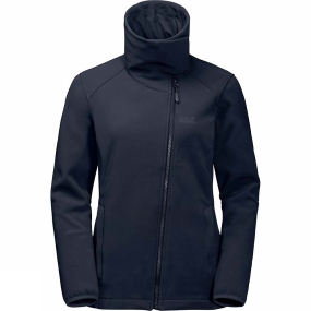Jack Wolfskin Jack Wolfskin Womens Element Valley Jacket Midnight Blue