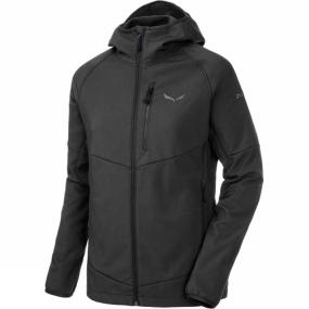 Salewa Salewa Womens Puez PL Full Zip Hoody Black Out