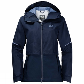 Jack Wolfskin Jack Wolfskin Womens Pioneer Trail Jacket Midnight Blue