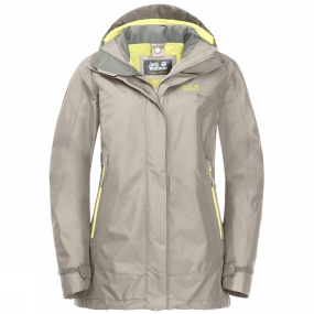 Jack Wolfskin Jack Wolfskin Womens Onyx Peak Jacket Dusty Grey