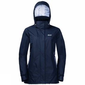 Jack Wolfskin Jack Wolfskin Womens Onyx Peak Jacket Midnight Blue