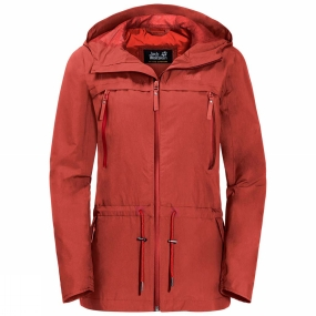 Jack Wolfskin Jack Wolfskin Womens Fairview Jacket Volcano Red