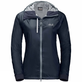 Jack Wolfskin Jack Wolfskin Womens Air Lock Jacket Midnight Blue