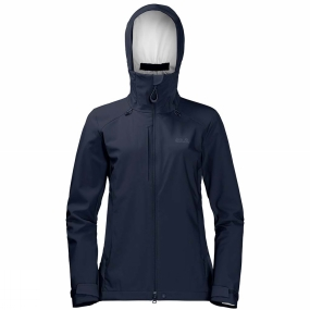 Jack Wolfskin Jack Wolfskin Womens Gravity Flex Jacket Midnight Blue