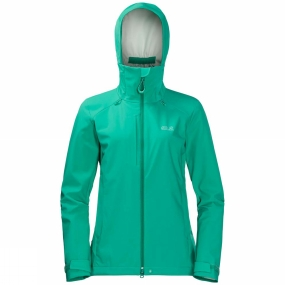 Jack Wolfskin Jack Wolfskin Womens Gravity Flex Jacket Deep Mint