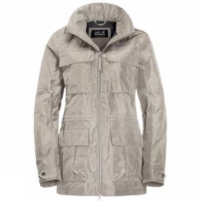 Jack Wolfskin Jack Wolfskin Womens Palmdale Jacket Dusty Grey