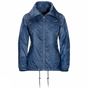 Jack Wolfskin Jack Wolfskin Womens Shibori Jacket Ocean Wave All Over
