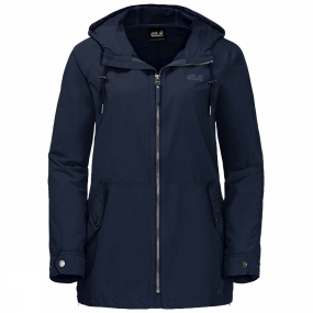 Jack Wolfskin Jack Wolfskin Womens Lewiston Jacket Midnight Blue