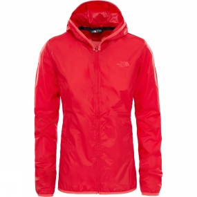 The North Face The North Face Womens Tanken Wind Wall Jacket High Risk Red