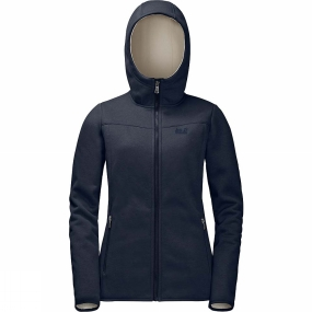 Jack Wolfskin Jack Wolfskin Womens Terra Nova Bay Jacket Midnight Blue