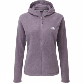 The North Face The North Face Womens Brianna Hoody Black Plum Stripe