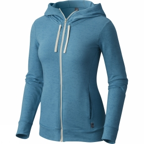 Mountain Hardwear Mountain Hardwear Womens Burned Out Full Zip Hoody Shasta