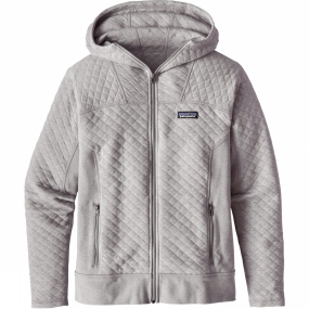 Patagonia Patagonia Womens Cotton Quilt Hoody Drifter Grey