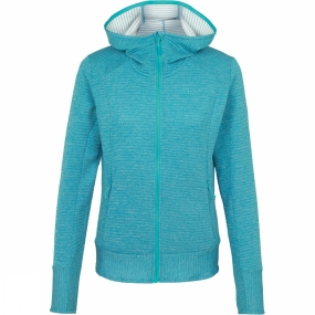 Salomon Salomon Womens Right Nice Mid Hoodie Enamel Blue