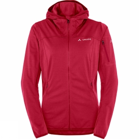 Vaude Vaude Womens Durance Hooded Jacket Indian Red