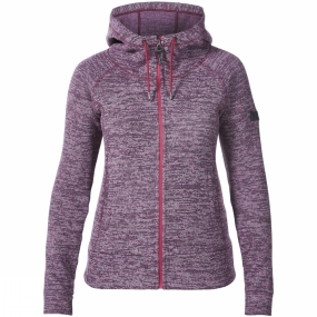 Berghaus Berghaus Womens Easton Fleece Jacket Dark Cerise Marl