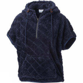 Columbia Womens Fire Side Sherpa Shrug Nocturnal