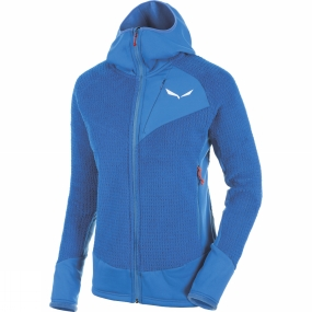 Salewa Salewa Womens Ortles Polartec Highloft Full Zip Hoody Royal Blue