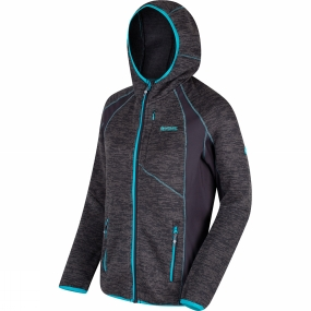 Regatta Womens Willowbrook III Hooded Full Zip Fleece