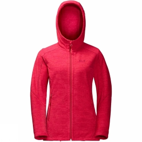 Jack Wolfskin Jack Wolfskin Womens Carson Jacket True Red