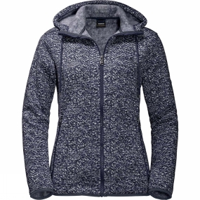 Jack Wolfskin Jack Wolfskin Womens Bellville Jacket Midnight Blue All Over