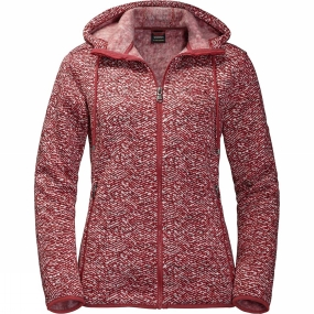Jack Wolfskin Jack Wolfskin Womens Bellville Jacket Indian Red All Over