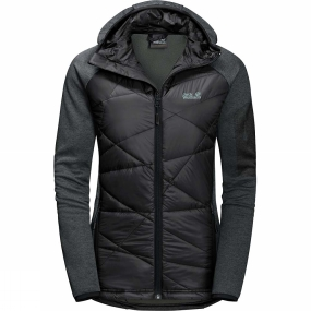 Jack Wolfskin Jack Wolfskin Womens Skyland Crossing Jacket Black