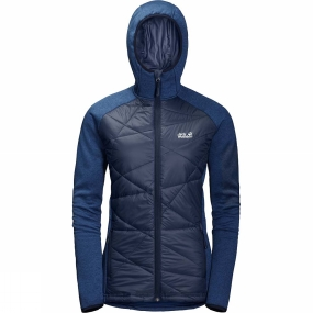 Jack Wolfskin Jack Wolfskin Womens Skyland Crossing Jacket Midnight Blue